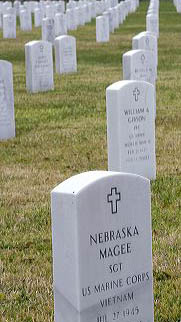 Grave stones at the National Cemetery in Biloxi, Mississippi. grave stones, head stones, grave site, cemetery, biloxi, mississippi, national cemetery, veteran