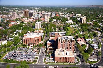File Photo view of St. Luke's Boise Regional Medical Center looking west.