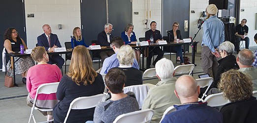 Most Speakers Oppose Growth At Town Hall